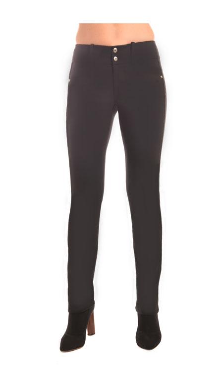 609A-Stretch-Prada-Twill-9in-Rise-Ankle-Skinny-Jean-(Black)