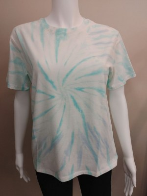 PYA tie dye t-shirt in green