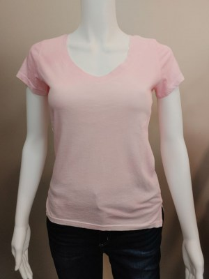 PYA v-neck t-shirt in pink