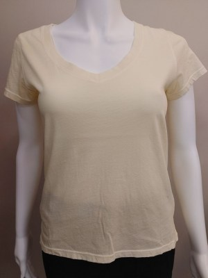 PYA v-neck t-shirt in yellow